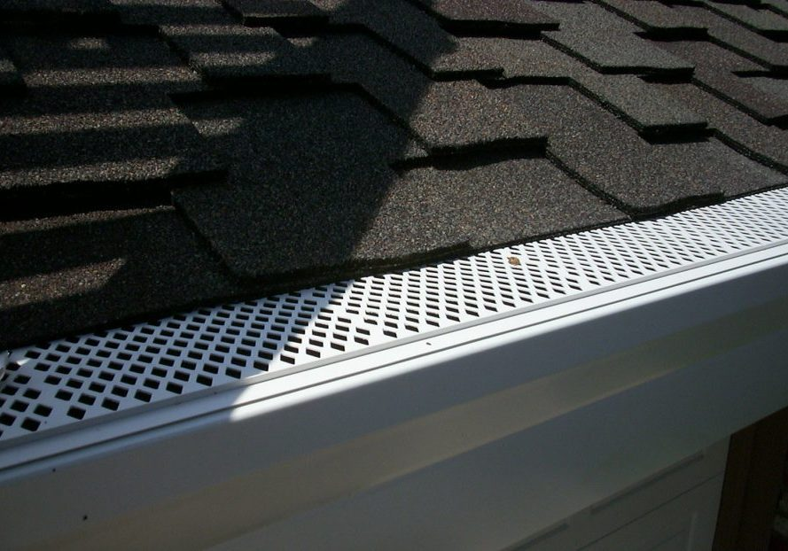 rain gutter protection, never have to clean your gutters again.